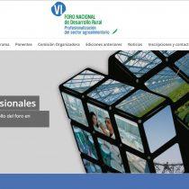 VI Foro Nacional de Desarrollo Rural.