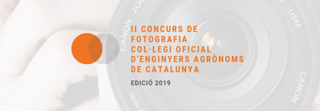 II Concurs de Fotografia del Col·legi Oficial d'Enginyers Agrònoms de Catalunya