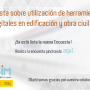 Enquesta sobre utilització d'eines digitals en edificació i obra civil