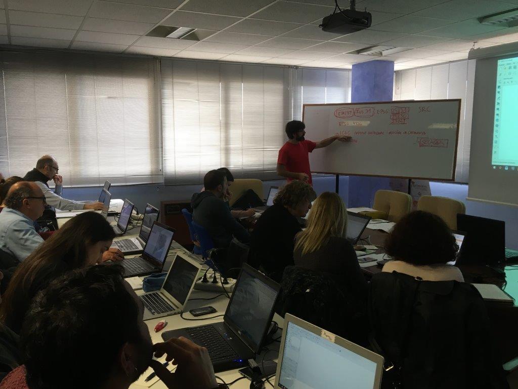 Un cop més, molt bona valoració del Curs de Topografia i Cadastre a Lleida. Georeferenciació i creació de fitxers GML.