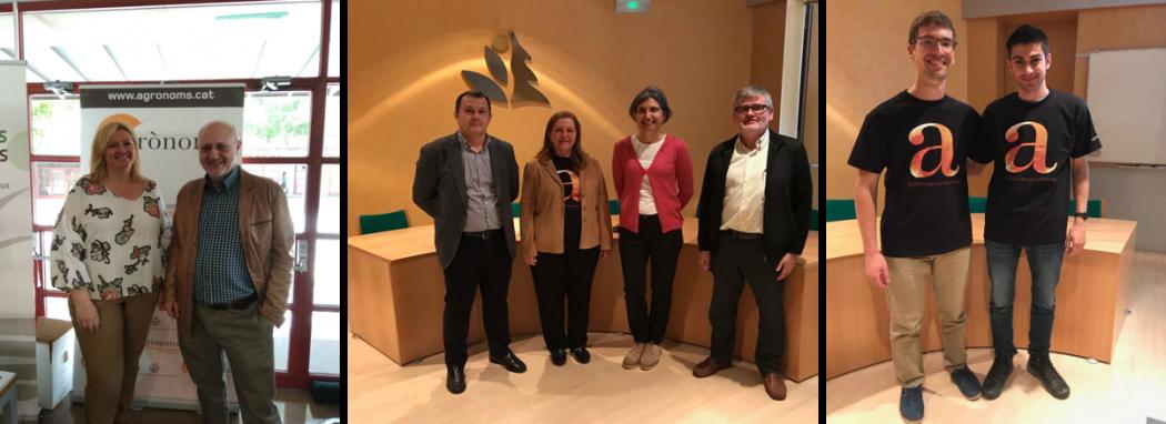 El Col·legi d'Enginyers Agrònoms present a la Fira Udl Treball
