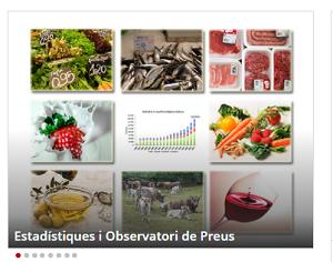 El Departament d'Agricultura millora el seu apartat web d'estadístiques i preus agroalimentaris