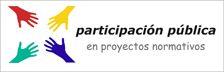 Participació pública en procediment elaboració normes. Normativa sobre procediments cadastrals