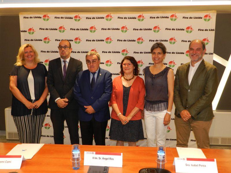Signat el conveni de col·laboració amb Fira de Lleida per alPremi del Llibre Agrari