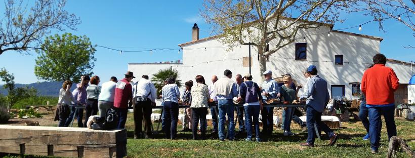 Calçotada d'Agrònoms 2019 i visita al Mas Miró