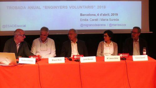 Els Enginyers Agrònoms presents a la trobada anual dels Enginyers Voluntaris
