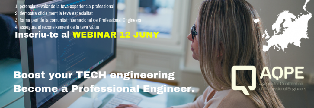 WEBINAR: Boost your TECH engineering, become a Professional Engineer
