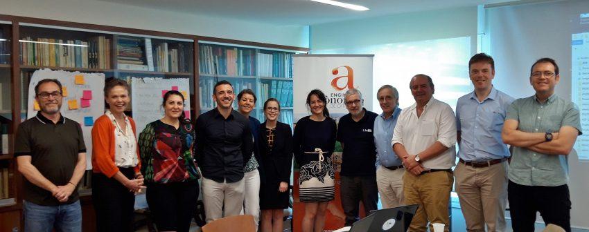 El Col·legi acull la reunió de l'Associació Estratègica de l'IRTA i altres instituts de recerca centrats en l'agricultura sostenible