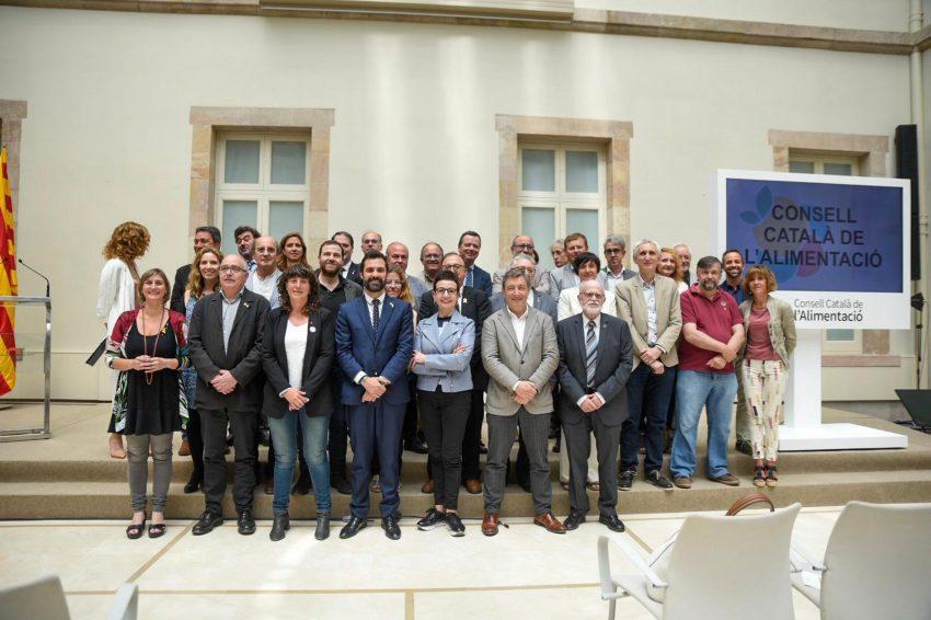 Presentació del Consell Català de l'Alimentació