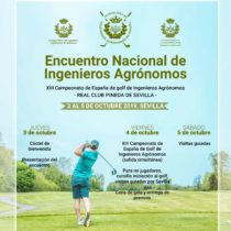 Encuentro Nacional de Ingenieros Agrónomos – XIII Campeonato de España de Golf de Ingenieros Agrónomos