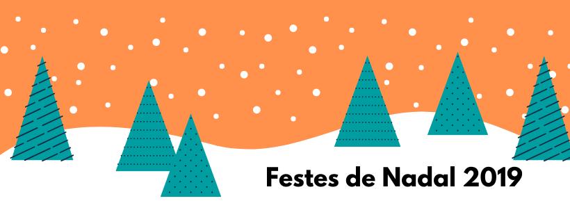 Festes de Nadal 2019: horari oficines COEAC