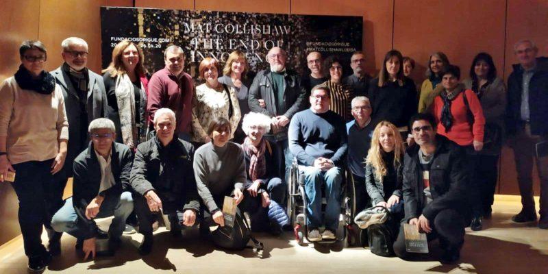 """Interessant visita a l'exposició: """"Mat Collishaw. The End of Innocence"""" a la Fundació Sorigué.  Lleida"""