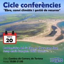 Cicle Conferències: Ebre, canvi climàtic i gestió de recursos