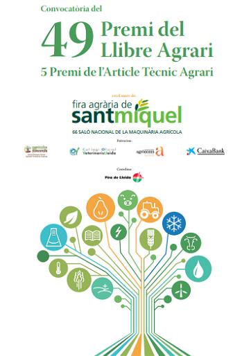 Fira de Lleida convoca una nova edició del Premi del Llibre Agrari