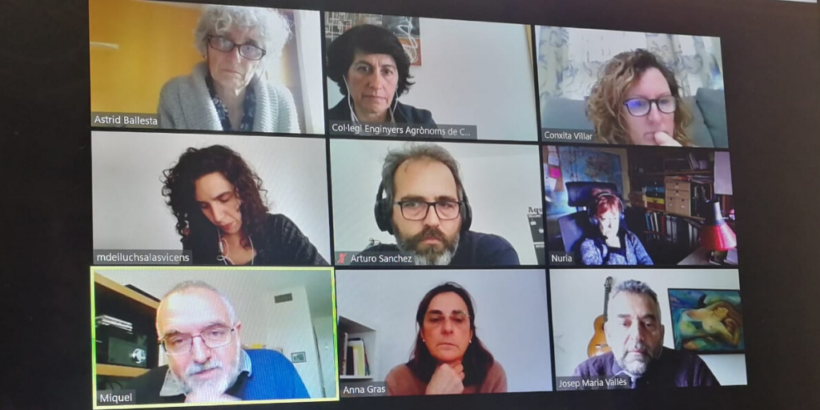 Reunió de la Comissió de Responsabilitat Social del Col·legi