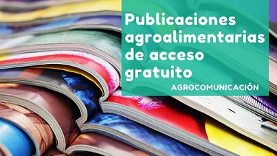 COVID-19: #JoEmQuedoACasa. Publicacions agroalimentàries d' accés gratuït