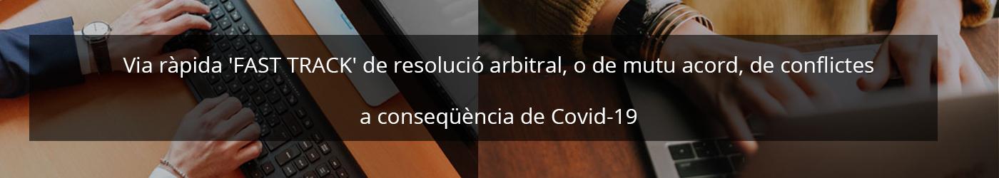 El Tribunal Arbitral de Barcelona posa en marxa una via ràpida telemàtica de resolució arbitral de conflictes a conseqüència del COVID-19