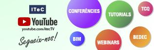 Pots veure totes les sessions de la Setmana dels Webinars al canal de YouTube de l' ITeC!