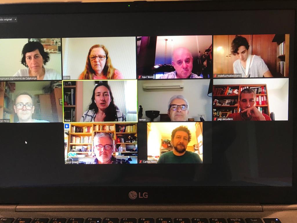 Primera reunió del Grup de treball pel futur de la professió dels @Eng_Agronoms