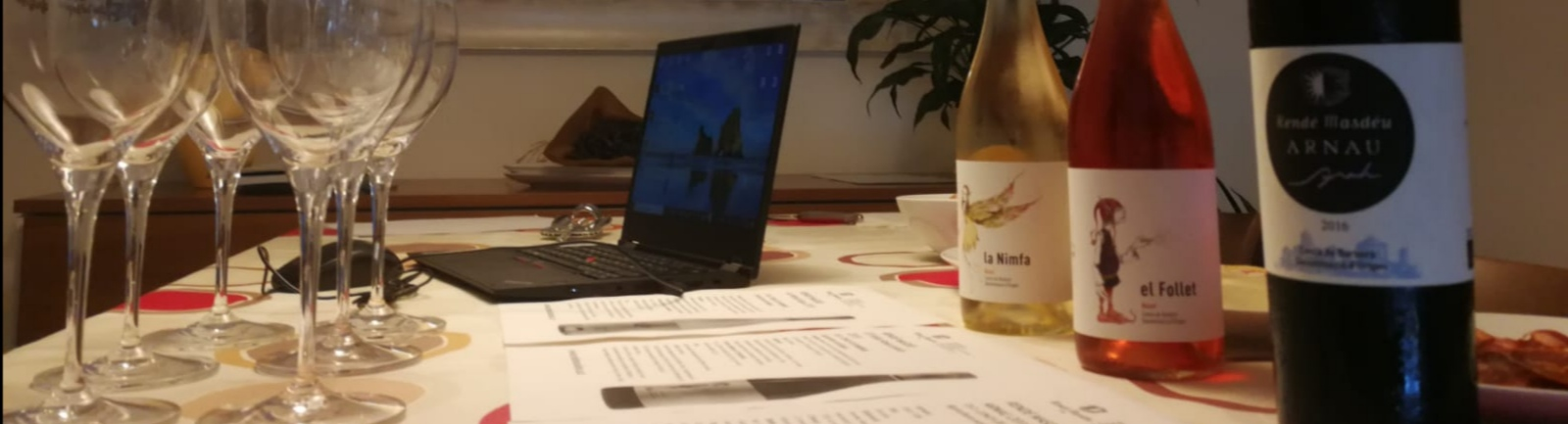Excel·lent tast virtual de vins!