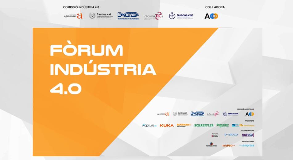 Resum del V Fòrum Indústria 4.0. En la que vam participar els enginyers agrònoms
