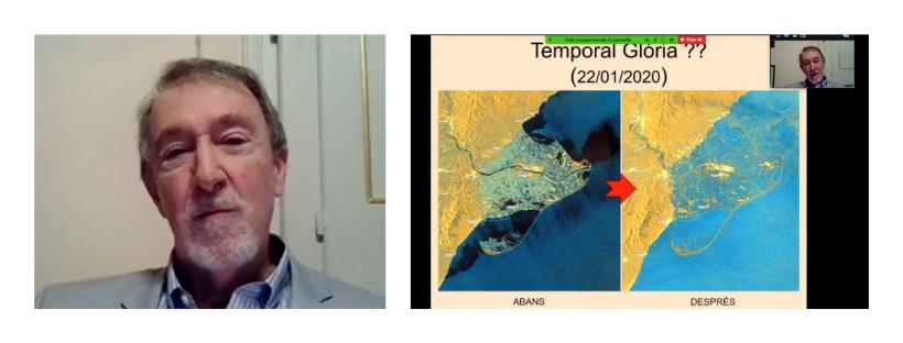 """""""El Delta de l'Ebre i els efectes del canvi climàtic als nostres ecosistemes agrícoles del Sud"""" Josep Maria Franquet"""