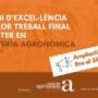 Ampliació del termini per a presentar-te al III Premi d'Excel·lència al Millor Treball Final del Màster en Enginyeria Agronòmica