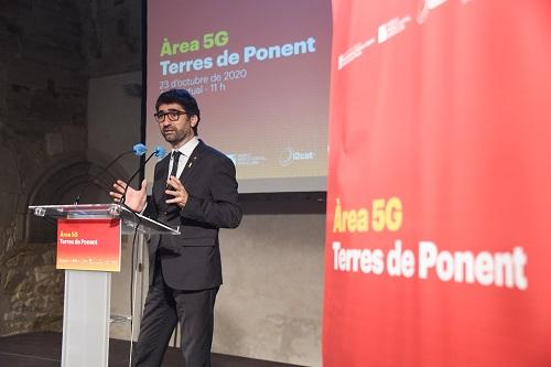 El Col·legi dona suport al projecte de l'Àrea 5G de les Terres de Ponent