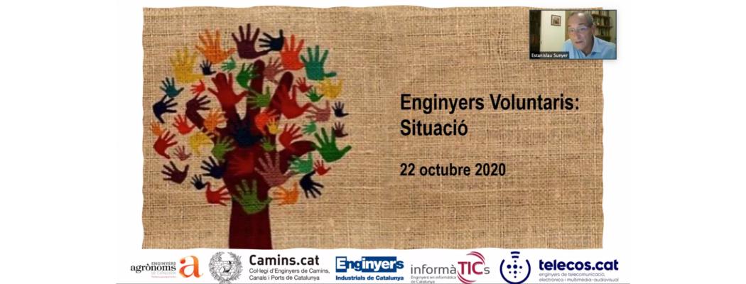 """Trobada Enginyers Voluntaris 2020: """"Enguany s'han fet accions, a través dels cinc col·legis professionals implicats, en els àmbits de la digitalització i logística al voltant de la COVID-19"""""""