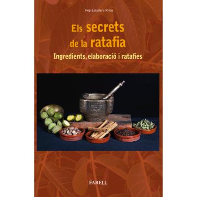 """Publicació del llibre: """"Els secrets de la ratafia. Ingredients, elaboració i ratafies"""" del company Pep Escudero"""