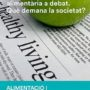 """Publicat el primer número de la col·lecció Alimentació i Comunicació: """"La informació alimentària a debat. Què demana la societat?"""""""