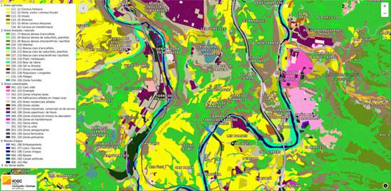 L'ICGC ha publicat el Mapa de cobertes del sòl de Catalunya coincidint amb el Dia Mundial del Sòl