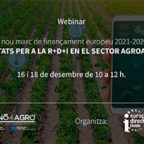 Segona sessió sobre Finançament de la innovació del sector agroalimentari