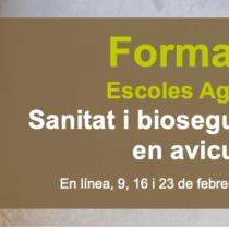 Curs: Sanitat i bioseguretat en avicultura