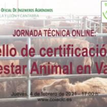 Jornada técnica «el sello de certificación de bienestar animal en vacuno»