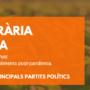 DEBAT EN LÍNIA: POLÍTICA AGRÀRIA I ALIMENTÀRIA amb representants dels principals grups polítics.
