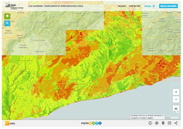 Noves dades sobre la capacitat agrològica dels sòls de Catalunya