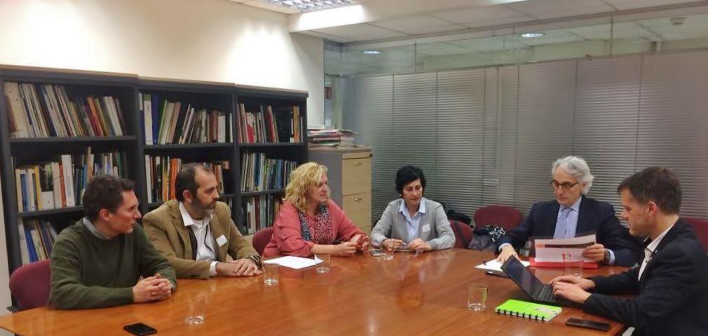 Reunió amb el President del Consell Assessor de Desenvolupament Sostenible (CADS)