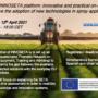 Webinar INNOSETA platform: eina innovadora i pràctica en línia per millorar l'adopció de noves tecnologies en l'aplicació en esprai