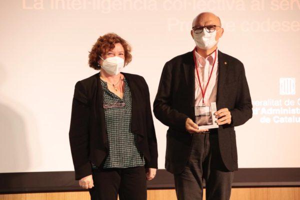 El company Tomàs A. Justé recull un accèsit al V Premis Alfons Ortuño