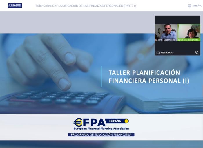 Molt bona impressió al primer taller sobre Planificació Financera Personal