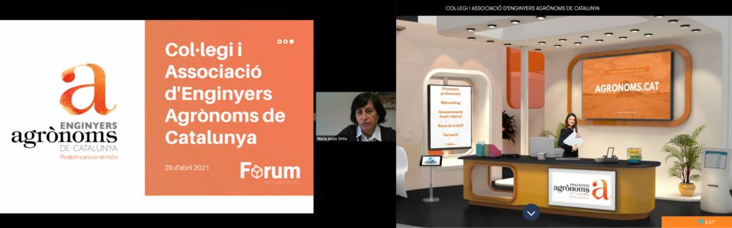 Primera participació del Col·legi i l'Associació d'Enginyers Agrònoms al Fòrum Industrial de la Universitat de Girona