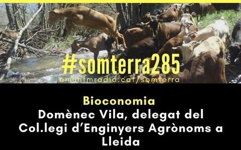 """El delegat de Lleida Domènec Vila, parla sobre """"Bioeconomia i reptes que tenim ara i al futur"""" al programa Som Terra"""