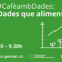 9a sessió de Cafè amb Dades: Dades que alimenten