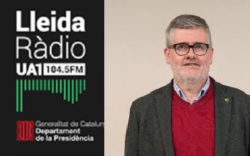 Radio Lleida UA1 entrevista al company Jordi Graell, director de l'ETSEA