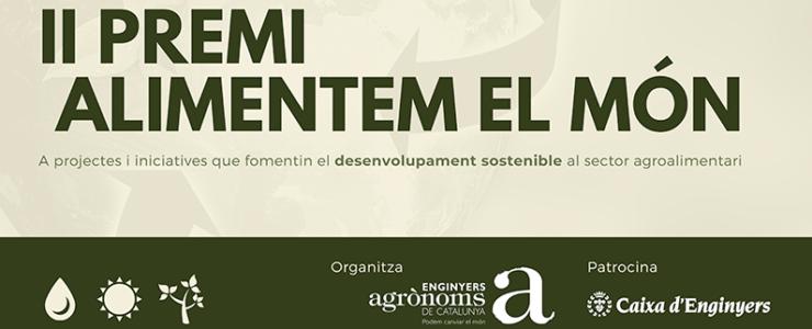 II Premi Alimentem El Món del Enginyers Agrònoms de Catalunya