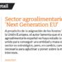 """Sector agroalimentari i fons 'Next Generation EU'"""