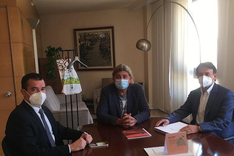 El Delegat de Lleida del COEAC  es reuneix amb el president i gerent del Consell Comarcal del Segrià