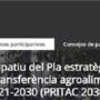 Obert el procés participatiu del PRITAC 2030