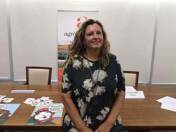 """La degana del Col·legi d'Agrònoms, Conxita Villar, reivindica """"el paper cabdal en la cadena alimentària"""" d'aquesta professió"""